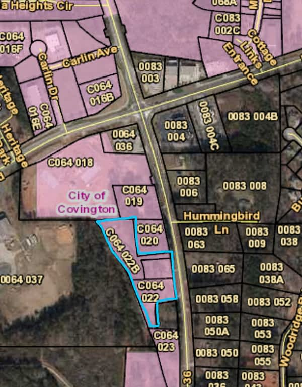 Land parcels in Covington, GA