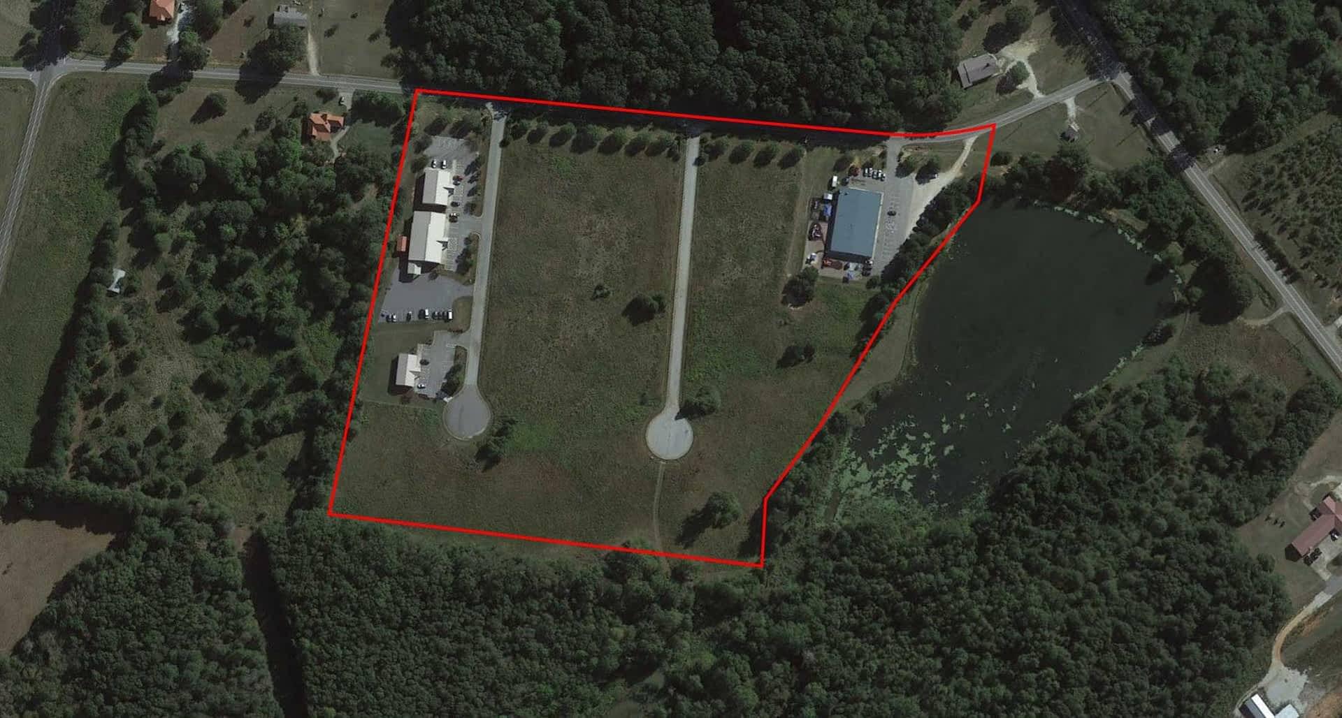 Lakeview Business Center - land transaction - 40 Spring Lake Drive, Danielsville, GA 30633