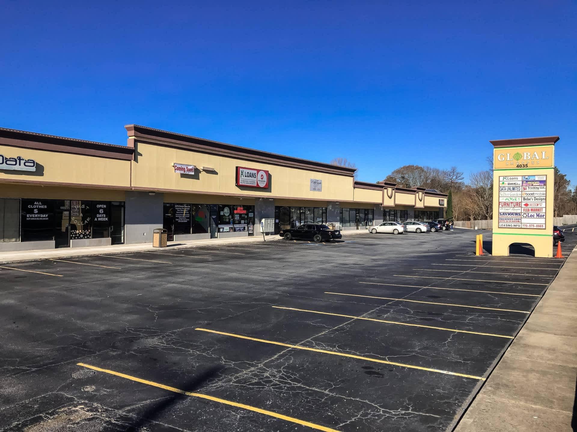 Forest Park Retail Shopping Center - Retail Sale - 4140 Jonesboro Rd, Forest Park, GA 30297