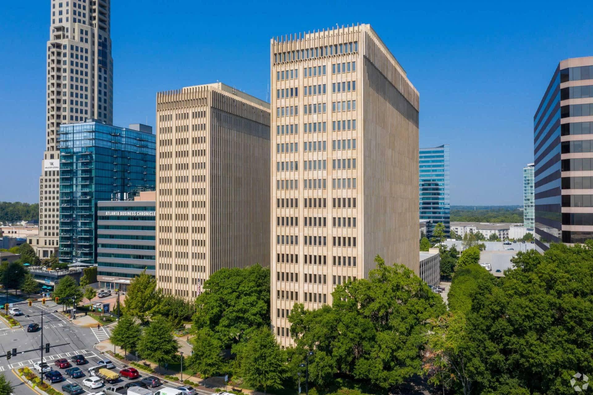 Lenox Towers - office sale - 3400 Peachtree Road, Atlanta, GA